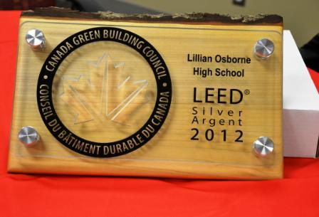 Lillian Osborne Leed Plaque